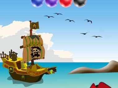 pirate bubble