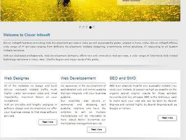 Dotnetnuke Corporate Website HTML5 CSS3 Jquery ASP SQL2005