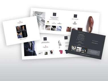 Folders, brochures