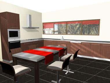 Kitchen's design