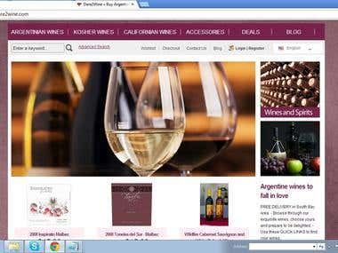 Wine Shop-eCommerce