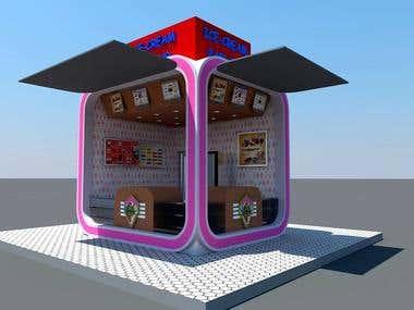 Ice-Cream Kiosk