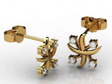 Jewelry 3d Rendering