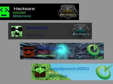 Minecraft Server Banner Creator