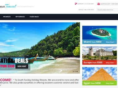 Hotel  Reservation Site