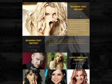 Breathheavy Website Concept Design
