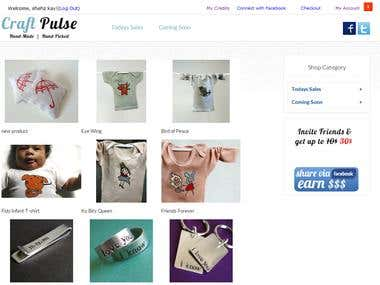 Craft Pulse  Private Sale Site
