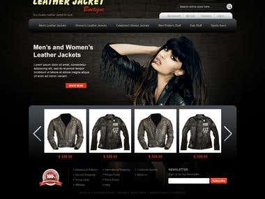 Leather Jacket Boutique