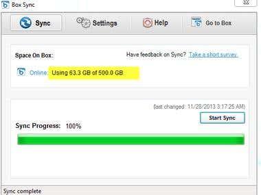 Cloud Based Files Management