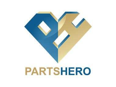partshero logo design