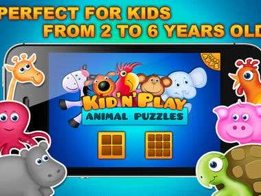 Kid'n'Play Animal Puzzles