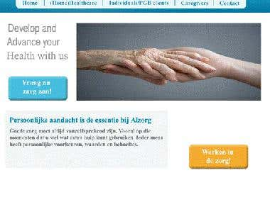 Alzorg Hospital website