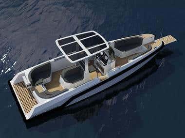 8.5m Beach Lander Superyacht Tender