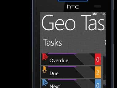 Geo Tasker for WP8