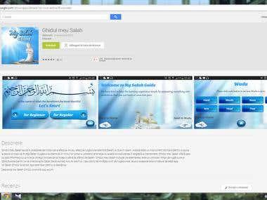 Translation of the mobile app My Salah Guide