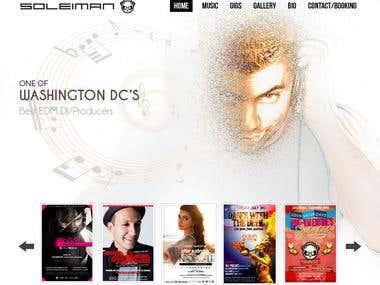 Dj web site