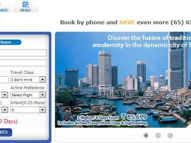 CitiAir Flight Booking Website