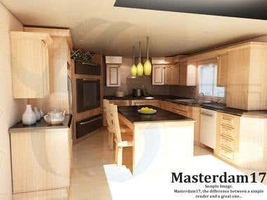 Kitchen Render based on image reference only