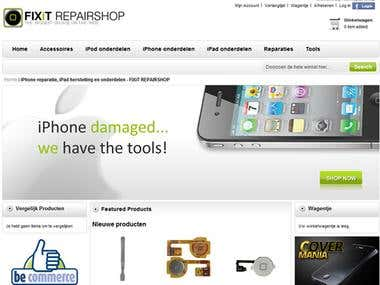 Electronics Website- ECommerce