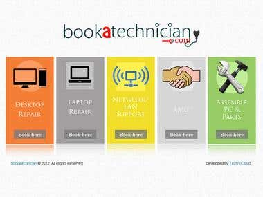 Book a Technoician
