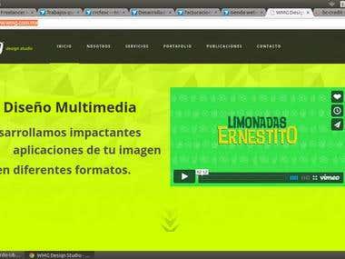 Pagina Web WMG