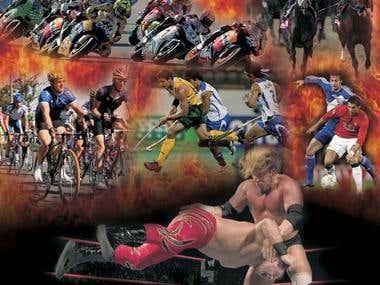 Ten Sports Poster