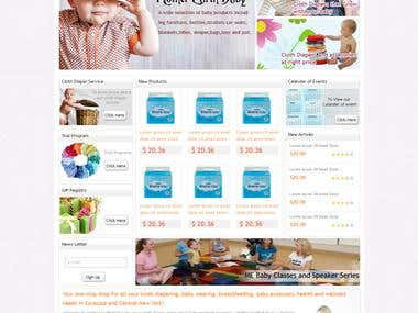 Online Baby Product Store