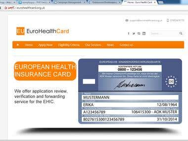 EHIC card website
