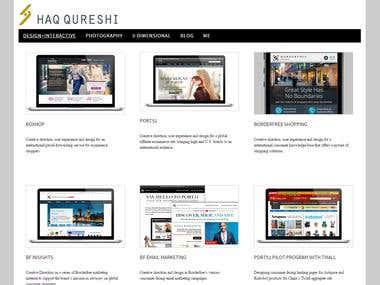 Haqart: Responsive Wordpress
