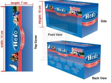 Hero Package Design