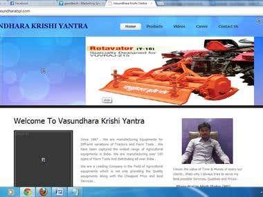 Vasundhara Krishi Yantra