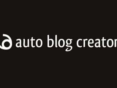 Auto Blog Creator