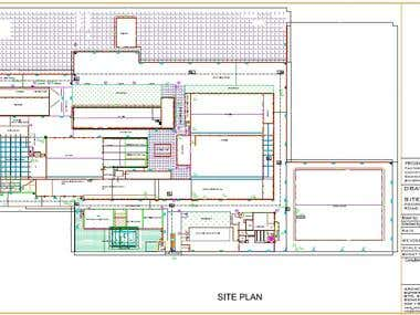 Site Plan- Drainage System