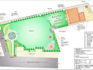 Banquet Lawn- site plan