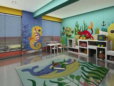 3D VISUALIZATIONS_KIDS ROOM