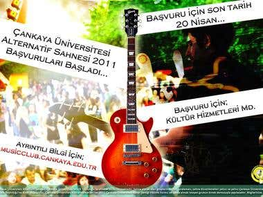 Poster Design for Cankaya University
