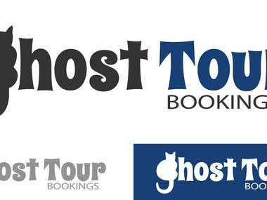 Ghost tour booking logo