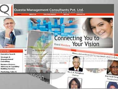 My client: a Management & Consultancy Firm