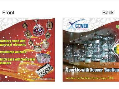 XCover Boutique Flyer