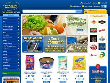 Supermarket Ecommerce in .NET SQL Server
