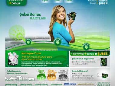 Sekerbonus Web Site Design