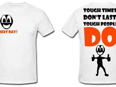 T-shirt Design for -we're t-shirt startup company.