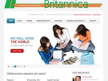 Web Site css and HTML5 design