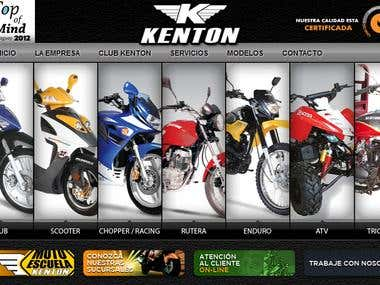 Kenton Motor's retail company official site