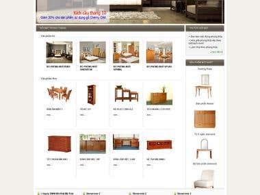 Wordpress site -  http://mytran.com.vn