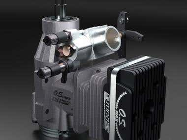 RC 90 Hely Engine