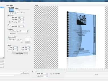 Screenshot of a Bulk Image Manipulator Software