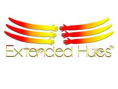 Extended Hugs - Logo Design