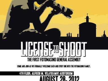 License to Shoot(Fotomasino General Assembly)