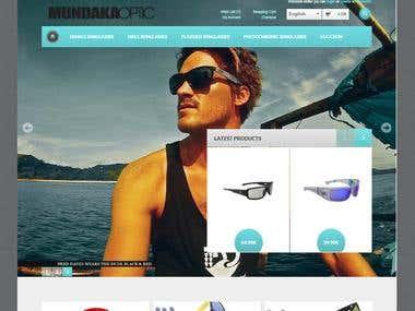 Online sunglasses store